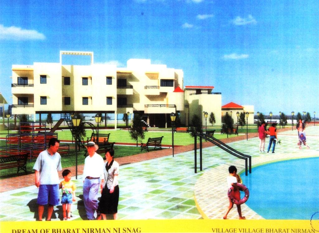 Pool, Park & Residence