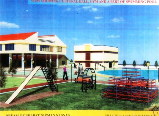 Hall, Gym and Pool
